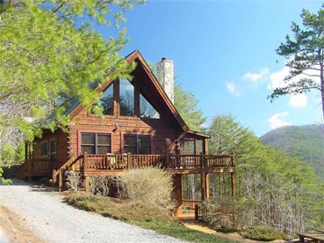 Blue sky cabin rentals ellijay georgia for Ellijay cabins for rent by owner