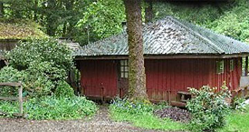 Elk creek falls cottage doty washington for Rental cabins near mt st helens