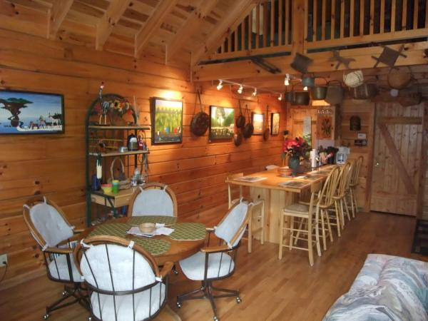 Big Rock Log Cabin Natural Bridge Area Kentucky
