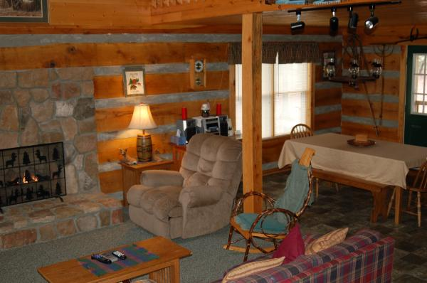 Authentic Oak Log Cabin ...