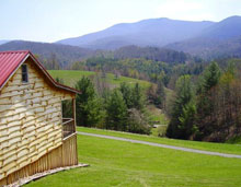 Located 11 Miles East Of Damascus, VA, This Cabin ...