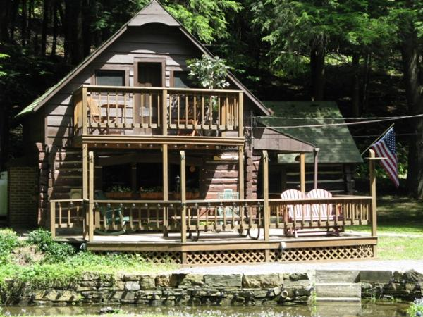Pa Cabin By The Stream Coudersport Pennsylvania
