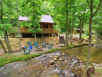 Lands Creek Log Cabins Bryson City North Carolina