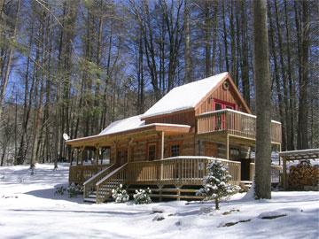 Bear Creek Cabin Hot Springs North Carolina