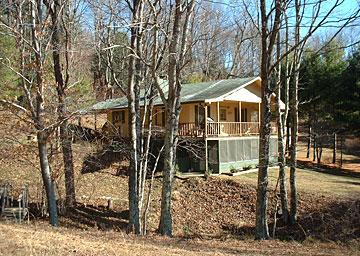meadowfork rental cabin sparta north carolina