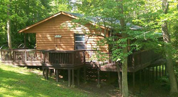 Whistling Woods Cabin Rental Beattyville Kentucky
