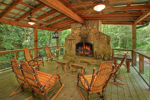 Indian Creek Cabin In Gatlinburg Tennessee