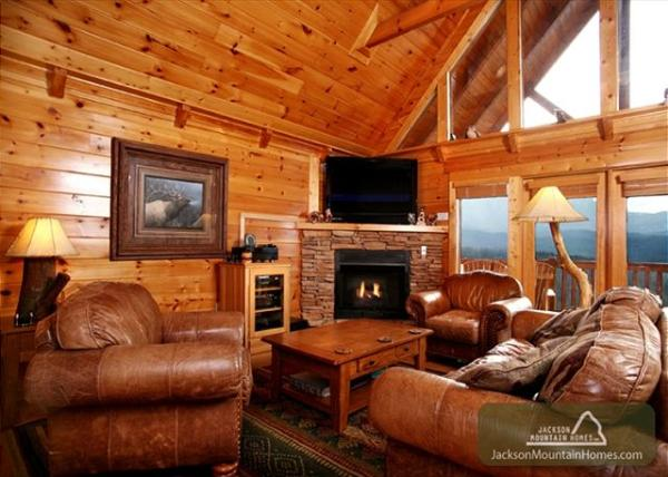 jackson mountain homes inc cabin in gatlinburg tennessee