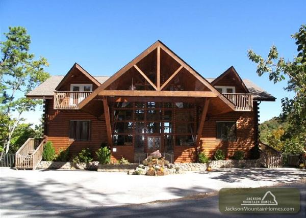 jackson mountain homes inc cabin in gatlinburg tennessee