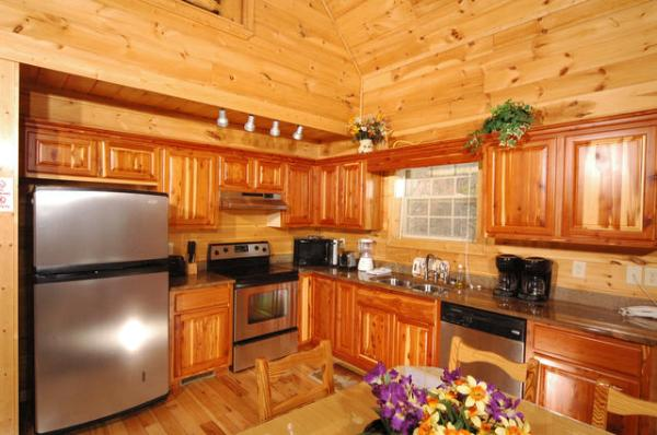 a bedroom cabin located hole gatlinburg tennessee fishin rental cabins in