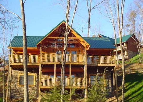 Gatlinburg Tennessee Cabins ~ Alpine chalet rentals cabin in gatlinburg tennessee